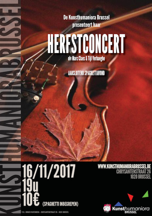 Herstconcert - 16 november 2017