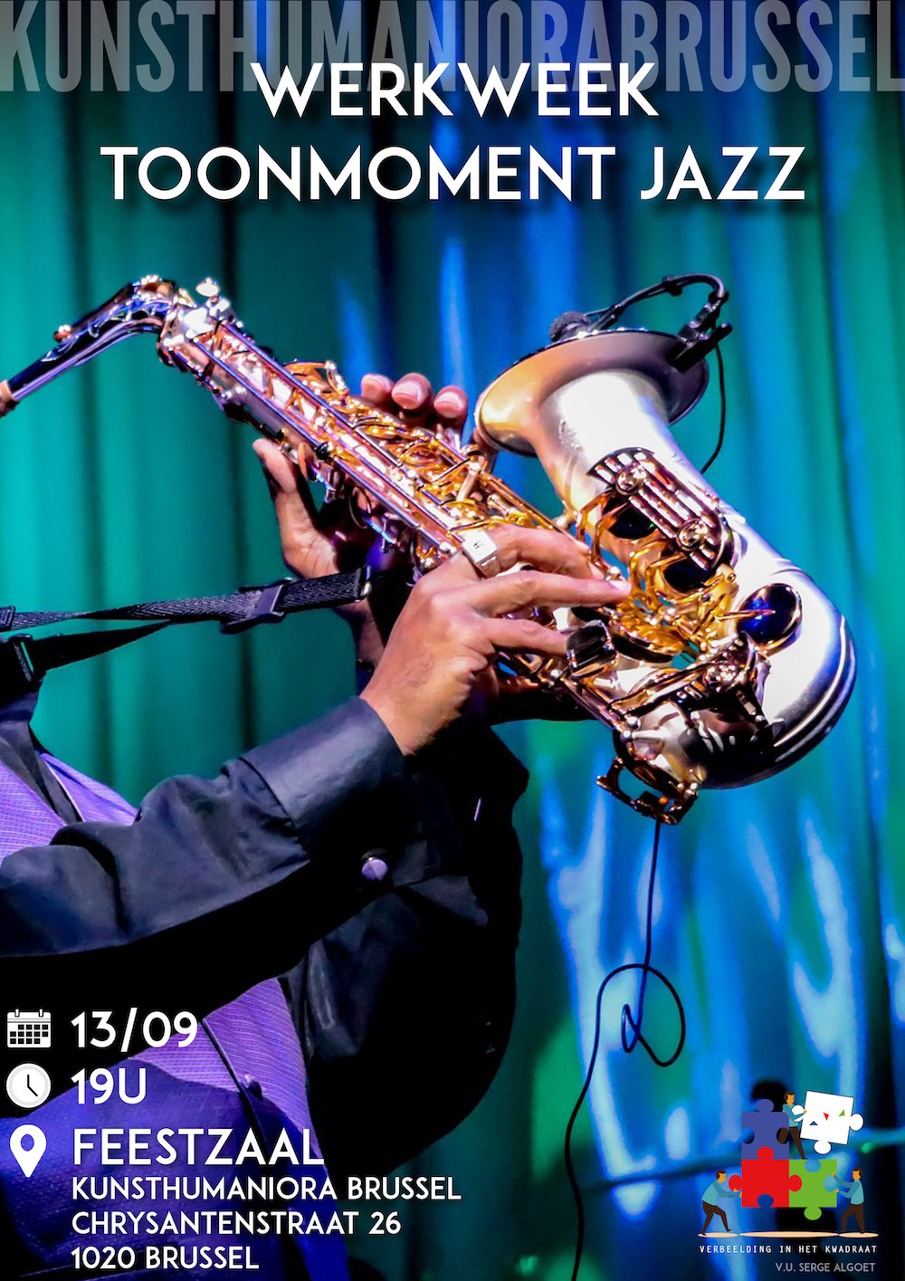 Werkweek en toonmoment Jazz - 13 september 2018